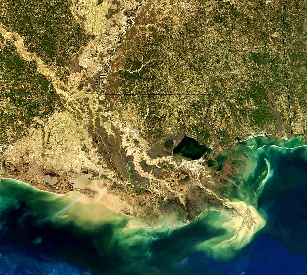 Water Science Photos Satellite Views USGS - Satellite picture of