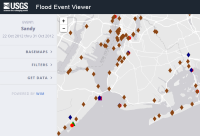 thumbnail of USGS Flood Event Viewer
