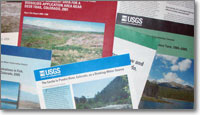 picture of various USGS reports