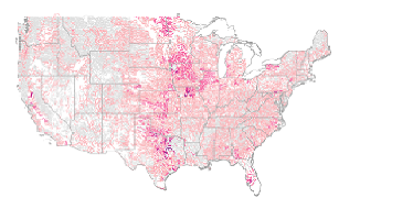 USGS National WaterQuality Assessment NAWQA Program - Us national map of bad water