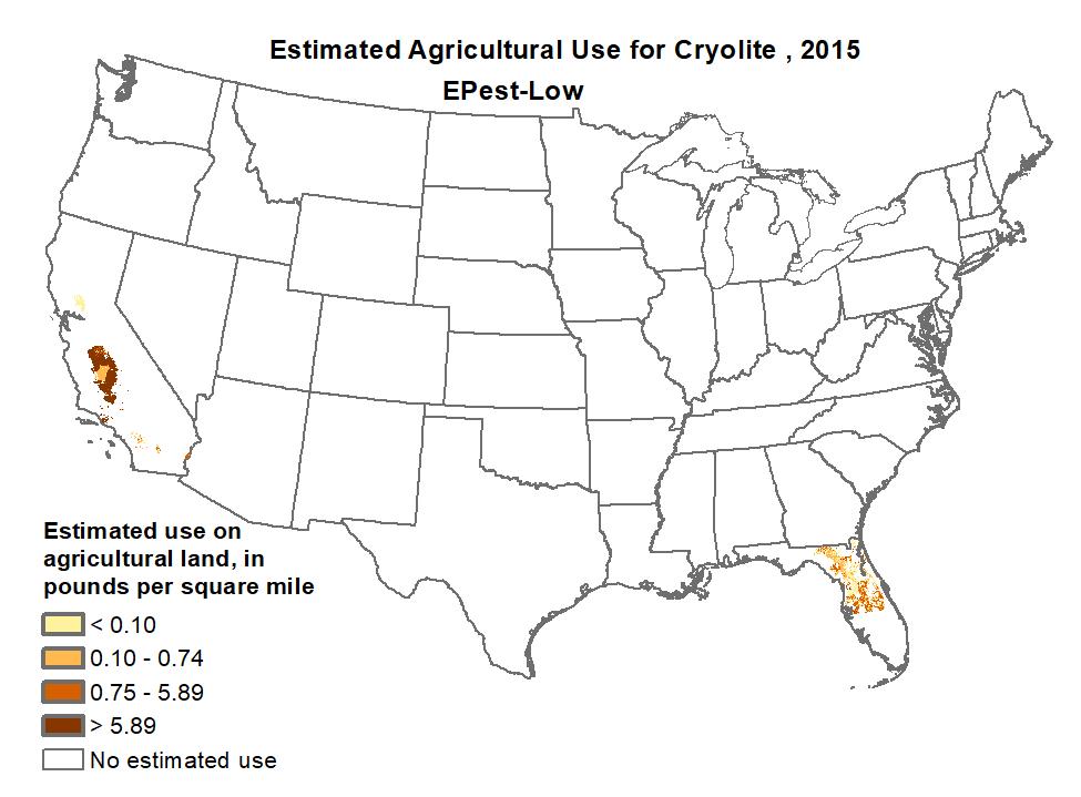 pesticide use map
