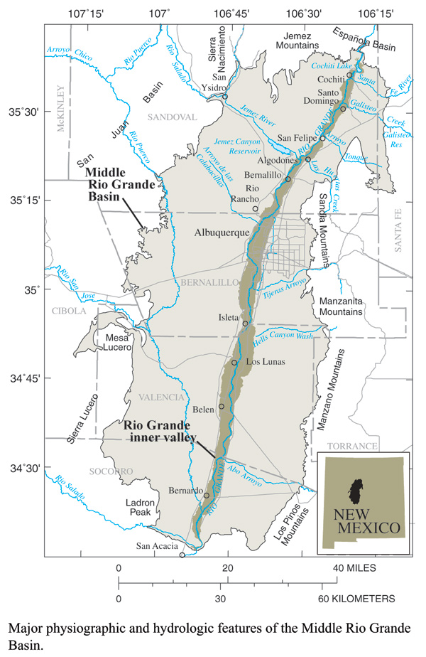 Middle Rio Grande Basin Study Initial Proof Of Concept Study