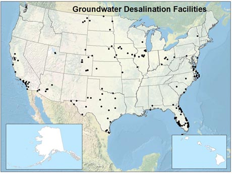 How is Brackish Groundwater Being Used USGS National Brackish