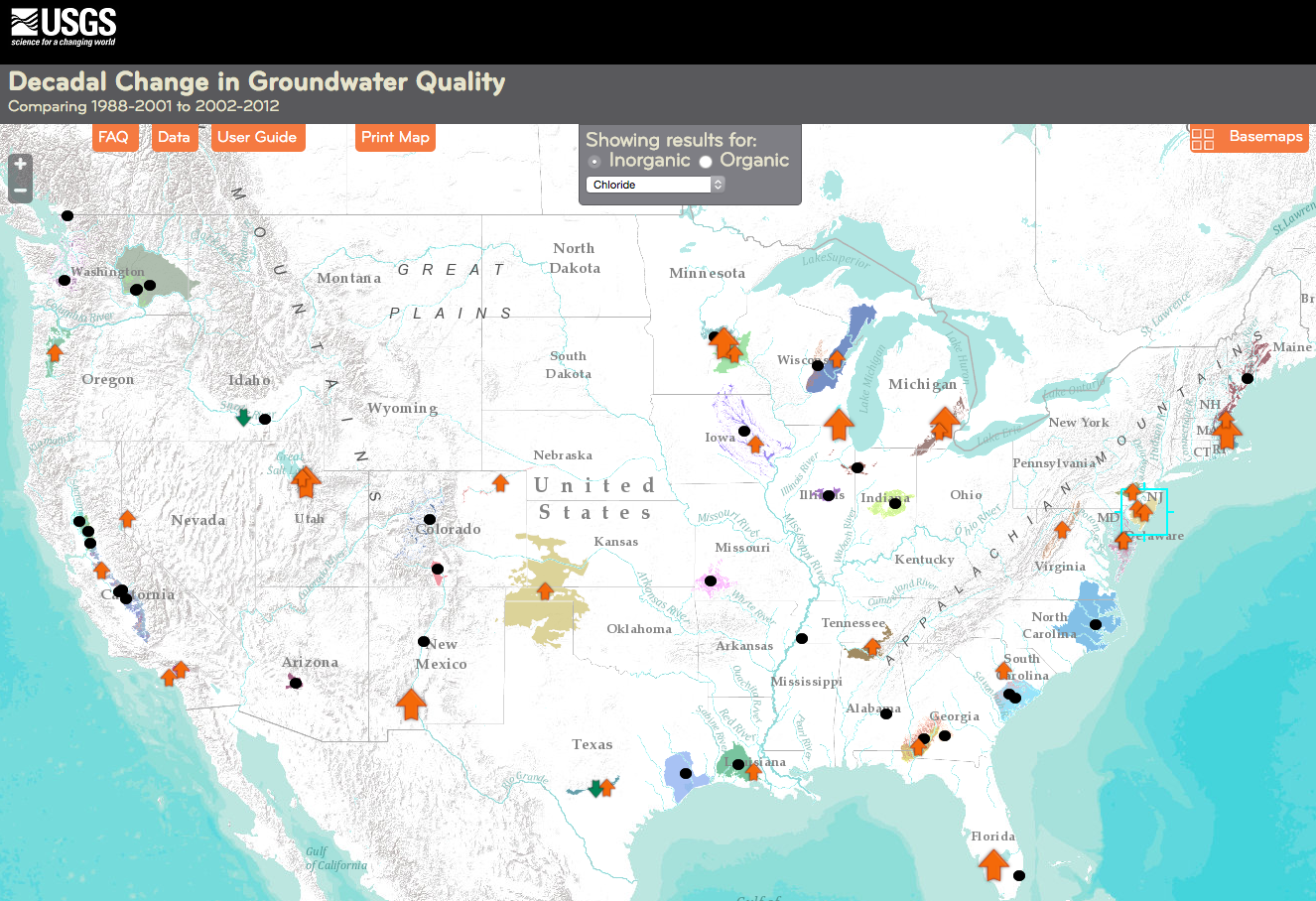 USGS Groundwater News And Highlights July - Us karst map usgs