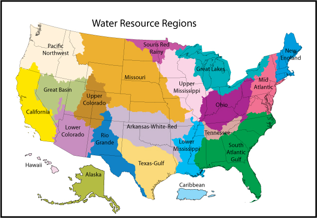 Science in Your Watershed: Locate Your Watershed By HUC - Mapping ...