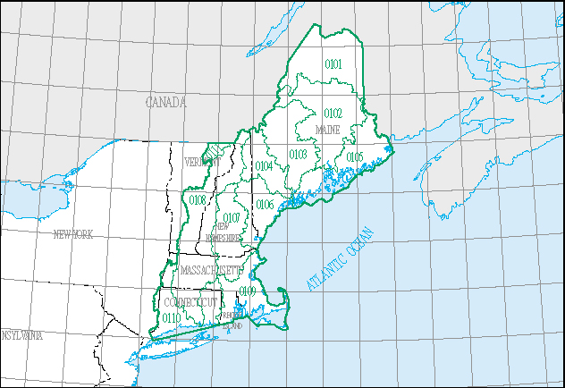 Science in Your Watershed - (01) New England Region